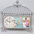 "Декор часы с фоторамкой ""Family"" T14, фото 2"