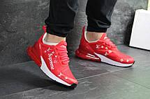 Модные кроссовки Nike air max 270 x Supreme,красные 44р, фото 3