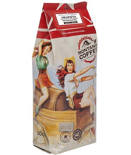 Кофе в зернах Montana Coffee Арабика Никарагуа 500 г.