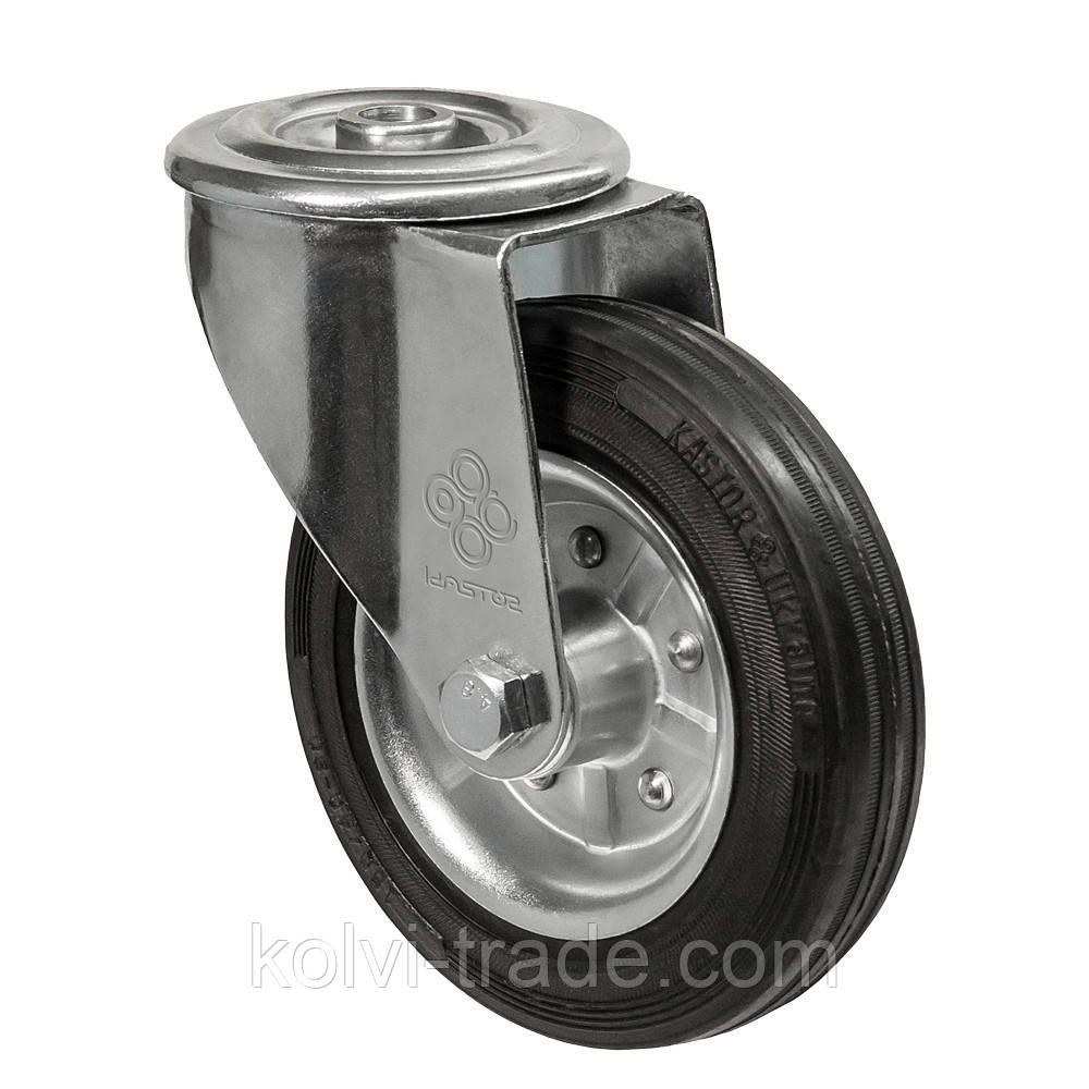 Колеса поворотные с отверстием Диаметр: 140мм. Серия 31 Norma