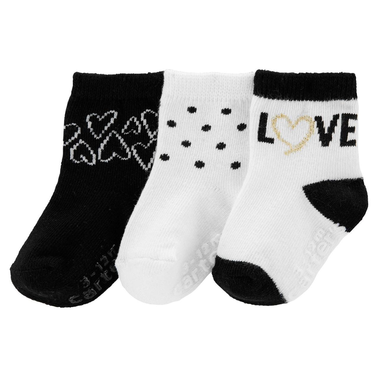 Набор носочков Carter's для девочек (CША)