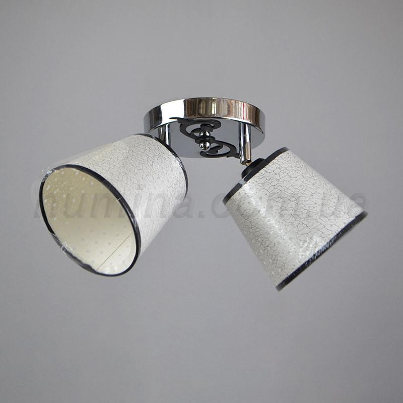 Люстра стельова на дві лампочки HTD-1040/2CR