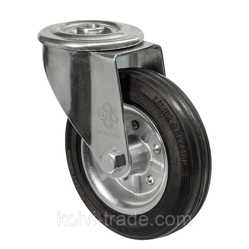 Колеса поворотные с отверстием Диаметр: 160мм. Серия 31 Norma