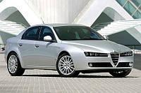 Боковое стекло Alfa Romeo.