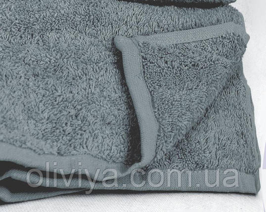 Полотенце для лица (темно-серое), фото 2