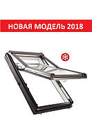 Окно мансардное Roto Designo WDF R79 K W WD AL 07/14 74x140см пластик