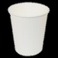 Стакан паперовий 175мл 50шт білий