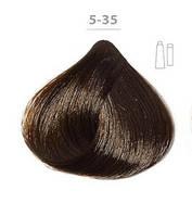 Ducastel Subtil Creme - крем-краска для волос 5-35 светлый шатен золотистый красное дерево, 60 мл