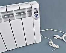 Электрорадиатор низкопольный на 5 секций 600 Вт ОптиМакс, фото 3