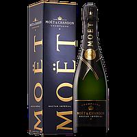 Муляж Шампанское Moet Chandon Nectar в фирменной упаковке, бутафория 0.75л Моет Шандон