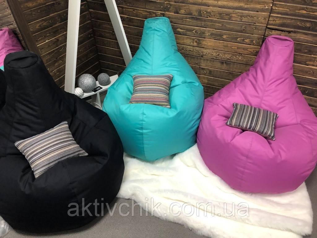 Кресло груша L (150*110см) Гигант, Оксфорд, Светло-сиреневый