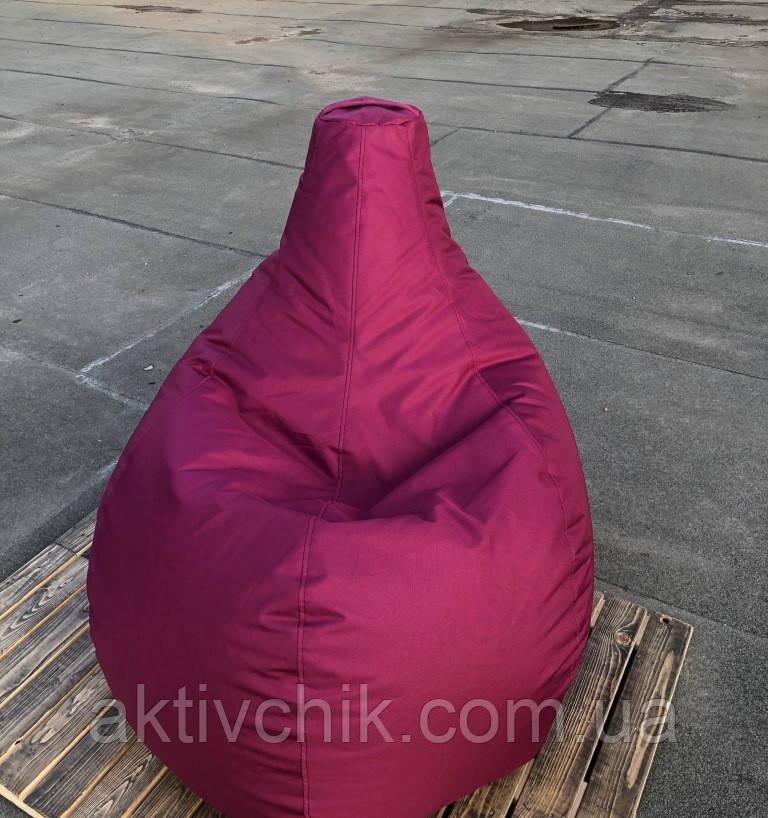 Кресло груша S (90*60см) для детей, Оксфорд, Ягодный