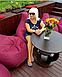 Кресло груша L (150*110см) Гигант, Оксфорд, Бордовый, фото 3