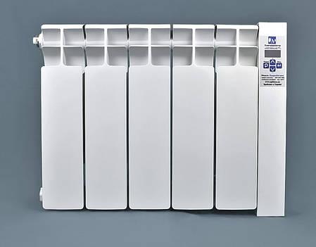 Электрорадиатор низкопольный на 5 секций 600 Вт ОптиМакс, фото 2