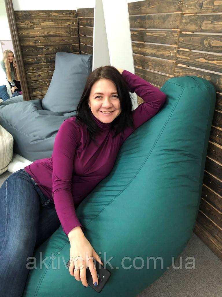 Кресло груша L (150*110см) Гигант, Оксфорд, Изумрудный