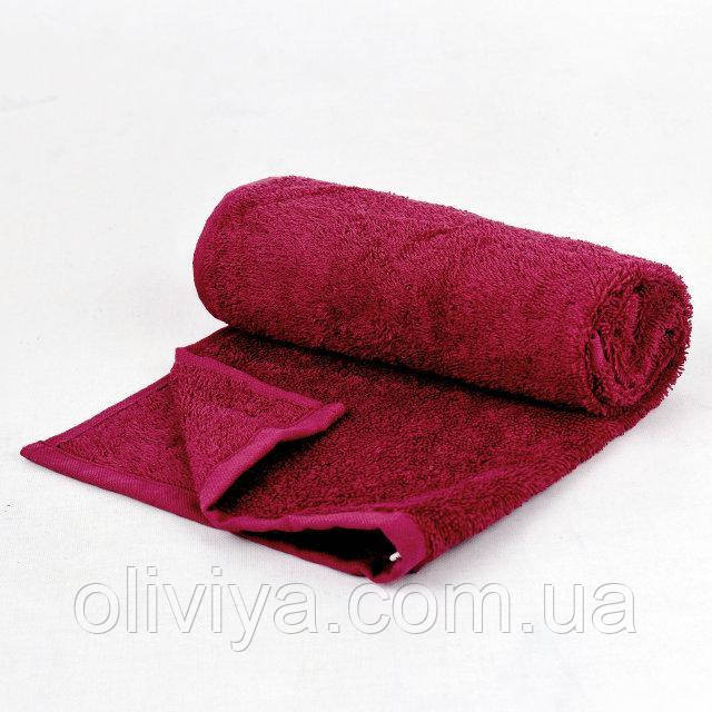 Полотенце для лица (бордовое)