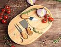 Набор для подачи сыра 3 ножа+доска GA Dynasty 11084, фото 2