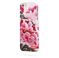 Чехол для iPhone 5/5s Цветочки V7
