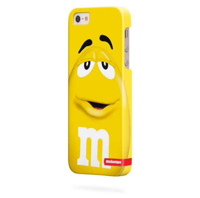 Чехол для iPhone 5/5s M&M's желтый