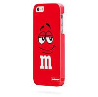 Чехол для iPhone 5/5s M&M's красный
