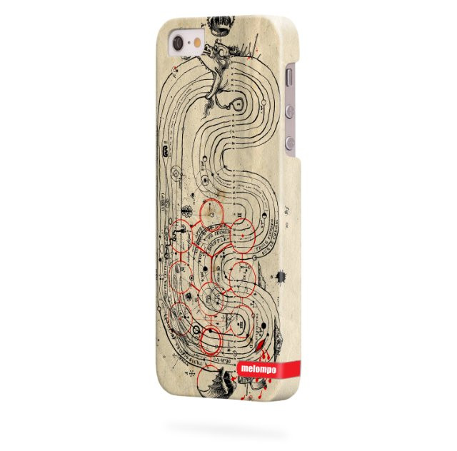 Чохол для iPhone 5/5s Лабіринт