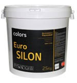 """Штукатурка фасадная силиконовая """"барашек"""" COLORS Euro Silon зерно 1.5мм, 25кг"""
