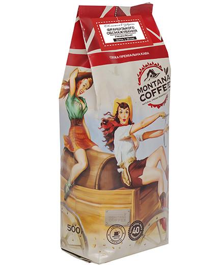 Кофе в зернах Montana Coffee Французская Обжарка 500 г.