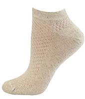 Носки женские летние укороченные лен