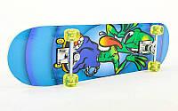 Скейтборд в зборі (роликова дошка)HB036