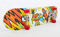 Скейтборд в зборі (роликова дошка)HB059