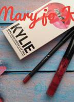 Набор помада + карандаш Kylie. Тон Mary jo K