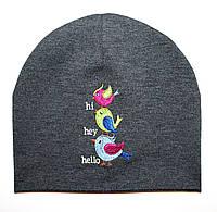 """Детская шапка """"Hi, bird"""""""