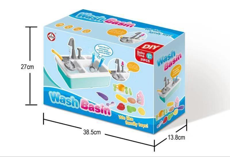 Игровой детский набор Кухонная раковина с водой оптом