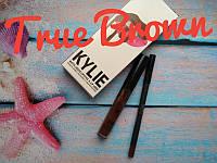 Набор помада + карандаш Kylie. Тон True Brown