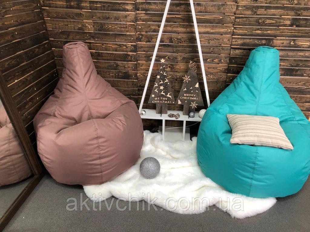 Кресло груша S (90*60см) для детей, Оксфорд, Нюдовый