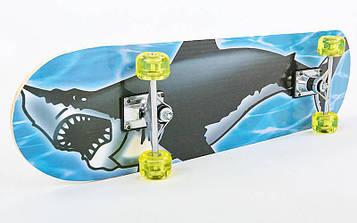 Скейтборд в сборе (роликовая доска) HB021