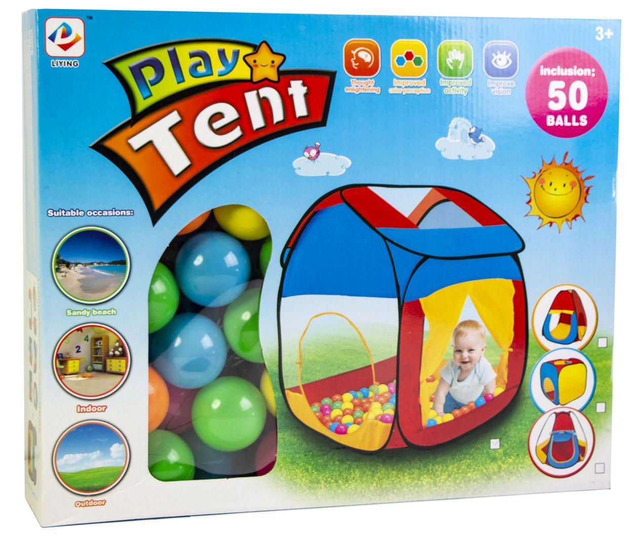 Детская палатка с шариками оптом