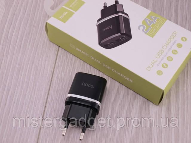 Сетевое зарядное устройство hoco. C12