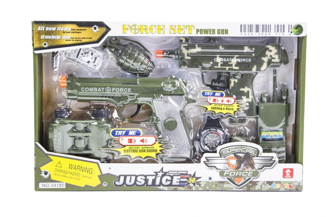 Детский набор военного 34180 оптом