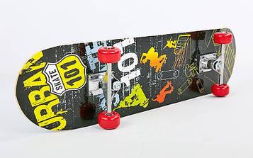 Скейтборд в сборе (роликовая доска)HB237