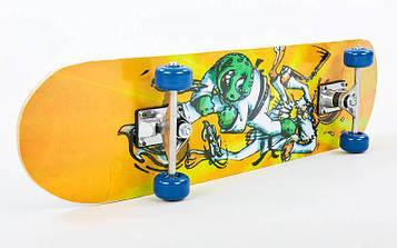 Скейтборд в сборе (роликовая доска) HB012