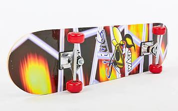Скейтборд в сборе (роликовая доска) HB025