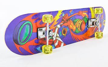 Скейтборд в сборе (роликовая доска)HB035