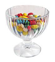 Креманка стеклянная для десертов и мороженого 270 мл FLAMENGO UniGlass