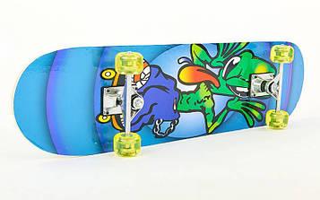 Скейтборд в сборе (роликовая доска)HB036