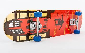 Скейтборд в сборе (роликовая доска)HB210