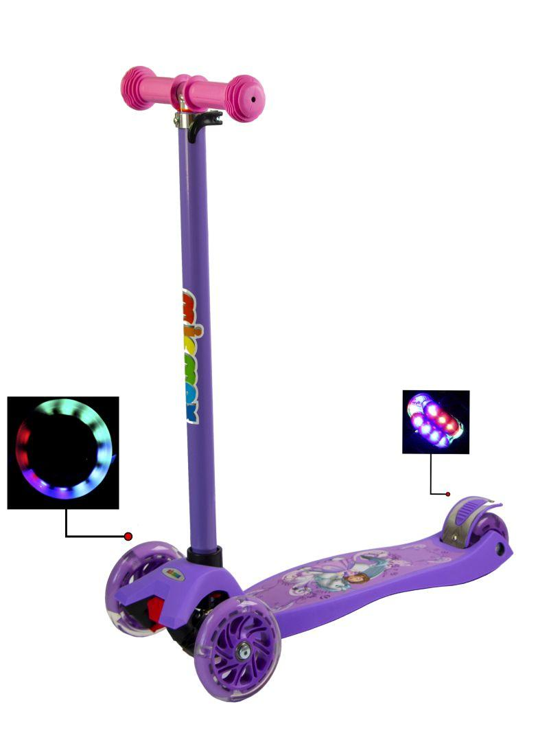 Самокат Maxi Scooter Disney. Unicorn Princess