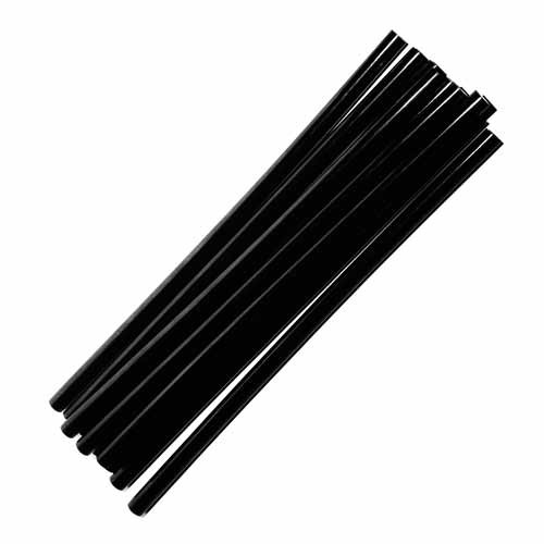 Черный клеевой стержень Тайвань 1кг, диаметр 7 мм, длина 195 мм
