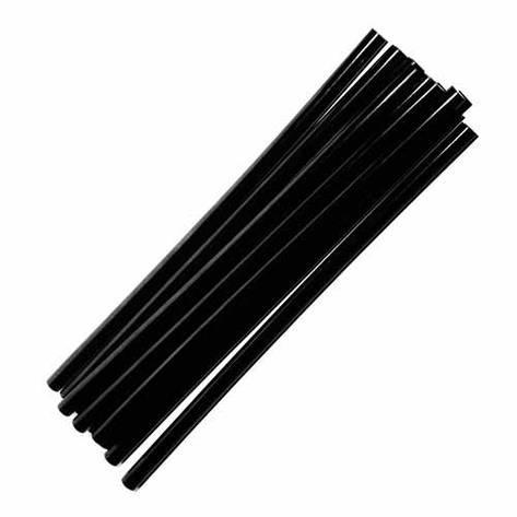 Черный клеевой стержень Тайвань 1кг, диаметр 7 мм, длина 195 мм, фото 2