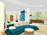Дизайн интерьеров жилых, общественных и офисных помещений